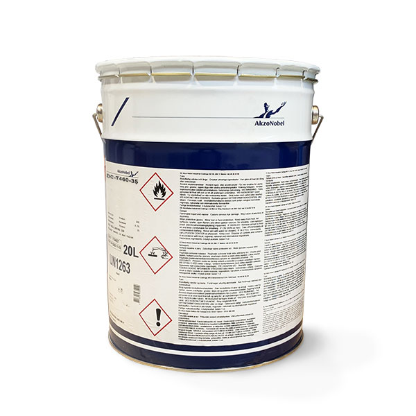 AKZO NOBEL DC-T460-35 FORMALDEHYDE FREE PIGMENTED TOPCOAT